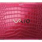Sony Vaio are haina din piele de crocodil