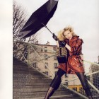Anja Rubik in Vogue Paris iunie-iulie 2009