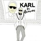 Karl Lagerfeld la Paris