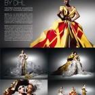DHL Haute couture