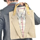 Weird fashion: geanta Joe Recycled Suit