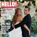 Poza oficiala de la nunta lui Robbie Williams