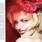 Eva Herzigova in Vanity Fair