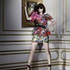 Irina Lazareanu in lookbook-ul H&M Lanvin