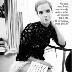 Emma Watson in Vogue UK – Decembrie 2010