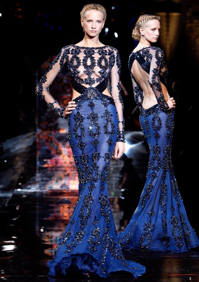 Zuhair Murad Colectia Haute Couture 0809 Mayraro Card From