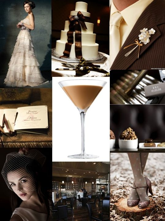 chocolate-martini-bride-inspiration-board-created-by-polkadotbride