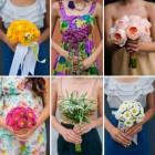 6 buchete pentru domnisoare de onoare