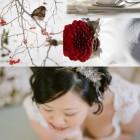 Stil japonez: nunta iarna