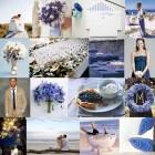 Culori de nunta: albastru
