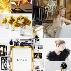 Culori de nunta: negru si auriu