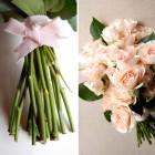Buchetul perfect: trandafiri crem