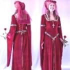 Rochia de mireasa medievala