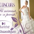Infomariaj si Marithe te premiaza cu o rochie de mireasa